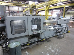 500 Ton Van Dorn Injection Molding Machine, Model 500Hp4300, 90Oz., 1998 Vintage