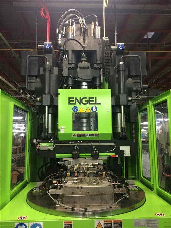175 Ton Engel Vertical Injection Molding Machine Model