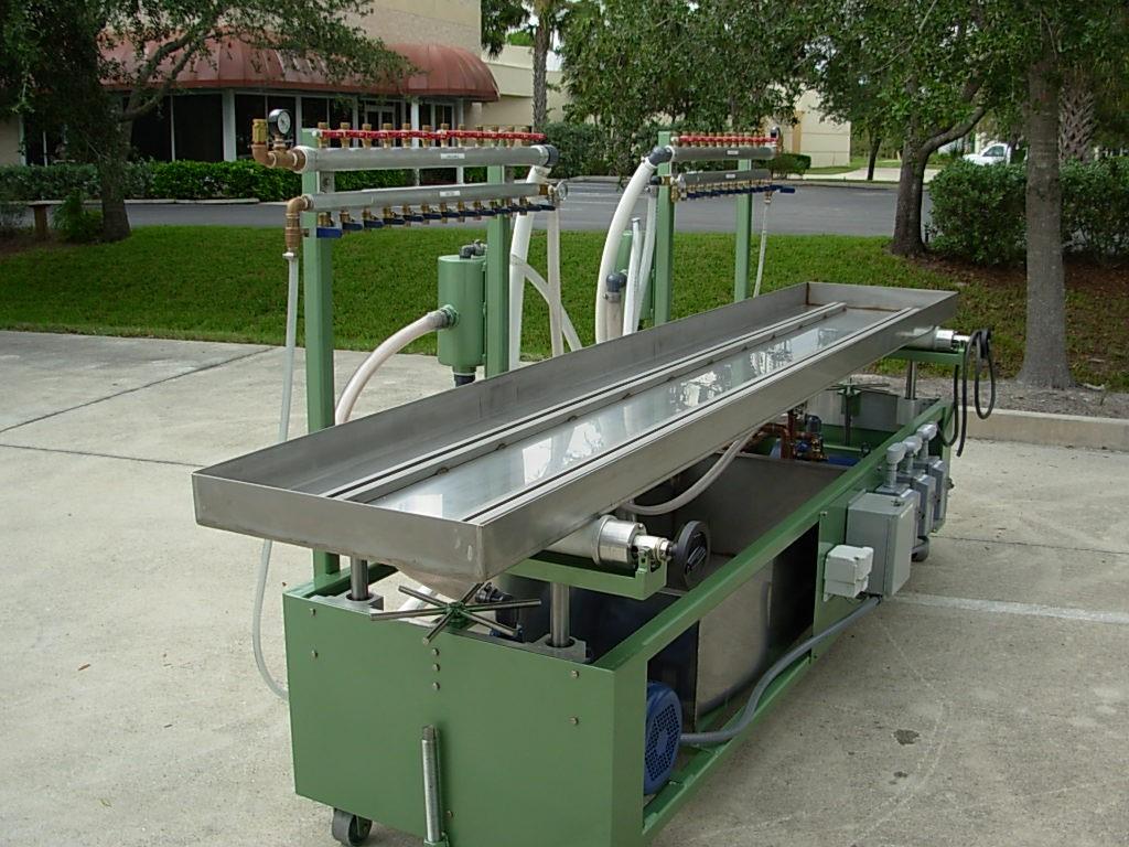 new tec polymer vacuum calibration table