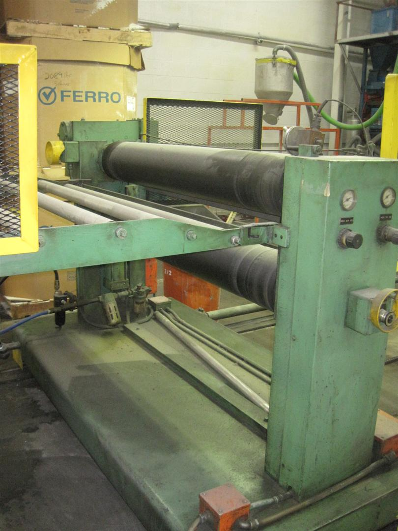 """Arlington Barber Shop >> 54"""" Wide Sterling Sheet Line with 4.5"""" Single Screw Extruder 